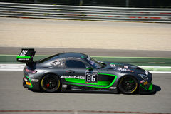 Sport mécanique de HTP Mercedes-AMG GT3 à Monza Images stock