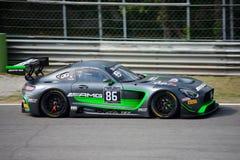 Sport mécanique de HTP Mercedes-AMG GT3 à Monza Image libre de droits