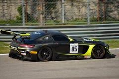 Sport mécanique Mercedes SLS AMG GT3 de l'équipe HTP à Monza Photographie stock