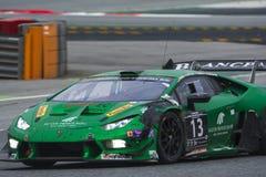 Sport mécanique 1Team de Sportec Lamborghini Huracan Images stock