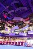 Sport mall - Barcelona, Spain. Aug. 19 2014 Tourists enjoy at sport mall , Barcelona, Spain Royalty Free Stock Photos