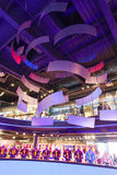 Sport mall - Barcelona, Spain Royalty Free Stock Photos