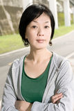 Sport mature Asian woman Stock Photo