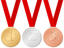Sport medals Stock Image