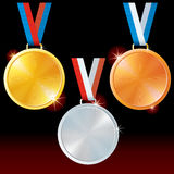 Sport Medals Stock Photography