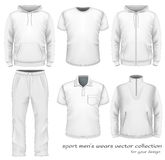 Sport men wear collection. Stock Photo