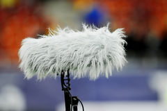 Sport microphone Royalty Free Stock Photography