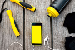 Sport mobile application Royalty Free Stock Photography
