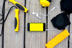 Sport mobile application Royalty Free Stock Photo