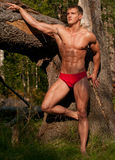 Sport model outdoor Royalty Free Stock Images