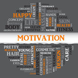 SPORT motivation concept related words in tag round cloud Royalty Free Stock Photo