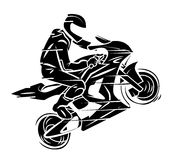 Sport Moto lizenzfreie abbildung