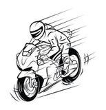 Sport Moto Stock Photography