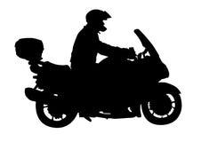 Sport motocyclists Stock Photography