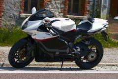 Sport motorbike. MV Augusta F4 Royalty Free Stock Photo