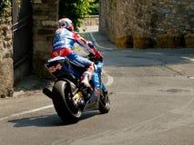 Sport motorbike at Bergamo Historic Grand Prix 2017 Royalty Free Stock Image