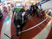 Sport motorbike Stock Photo