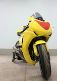 A sport motorcycle stock photography