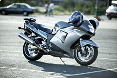 Sport motorcycle stock photos