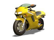 Sport motorcycle Stock Image