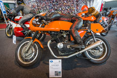 Sport motorcycle Laverda 750 GTC, 1971. Stock Image