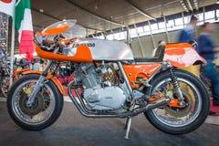 Sport motorcycle Laverda 750 SFC E, 1975. Royalty Free Stock Image