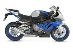 Sport Motorcycle. On white background Stock Photos