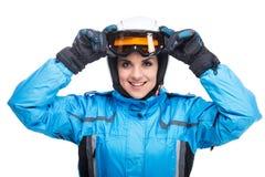 sport na śnieg na zimę Obrazy Royalty Free
