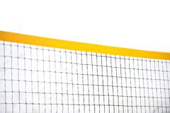 Sport net on white background. Volleyball net.  stock images