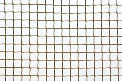 Sport net. On winter snow background Royalty Free Stock Photos