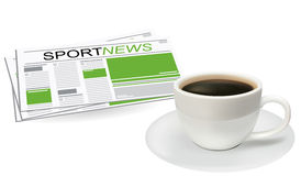 Sport news Royalty Free Stock Photography