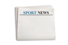 Sport News Stock Photography