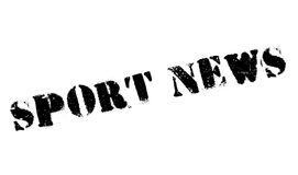 Sport News rubber stamp Stock Photography
