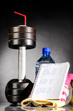 Sport nutrition Stock Photo