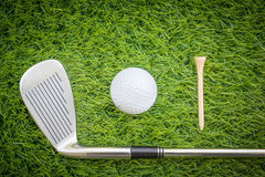Sport object related to golf equipment Royalty Free Stock Photo