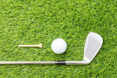 Sport object related to golf equipment Stock Image