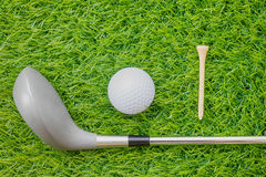 Sport object related to golf equipment Royalty Free Stock Image