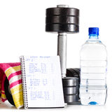 Sport objects Stock Images