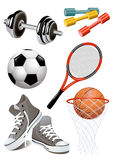 Sport_objects Immagini Stock