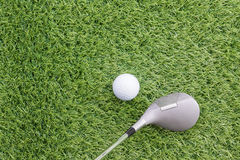 Sport objects related to golf equipment Royalty Free Stock Photography