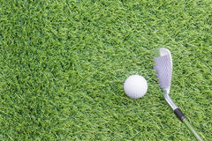Sport objects related to golf equipment Royalty Free Stock Photo