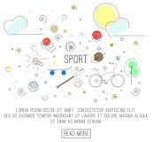 Sport oder gesunder Lebensstil Stockfotos