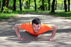 Sport in the park Royalty Free Stock Photography