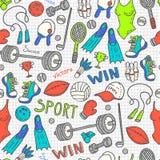Sport pattern Stock Photos