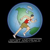Sport and peace for strong and good people Royalty Free Stock Image