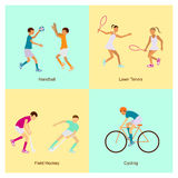 Sport people activities Stock Photo