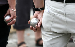 Sport petanque Royalty Free Stock Image