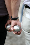 Sport petanque Stock Photography