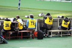 Sport photographers Royalty Free Stock Image