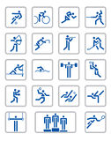 Sport pictographs Stock Photos